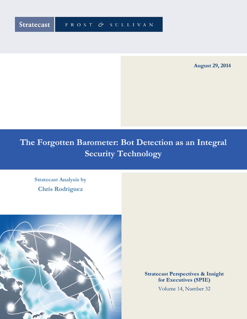 The Forgotten Barometer: Bot Detection as an Integral Security Technology