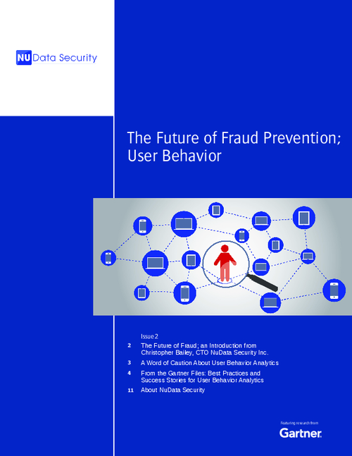 The Future of Fraud Prevention - User Behavior Analytics
