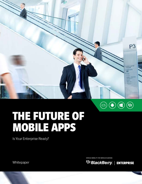 The Future of Mobile Apps
