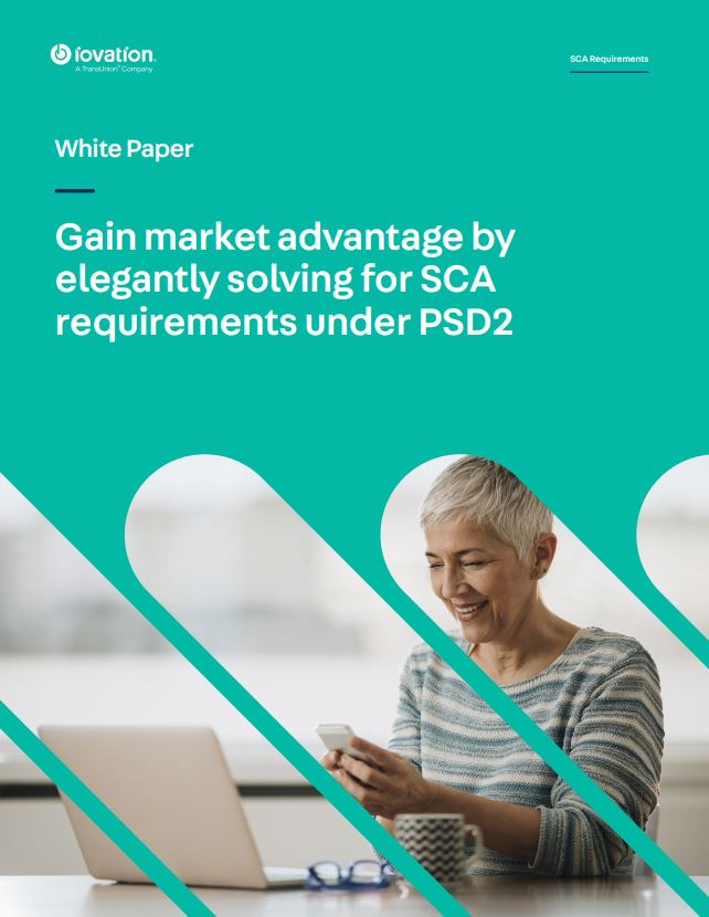 Gain market advantage by elegantly solving for SCA requirements under PSD2