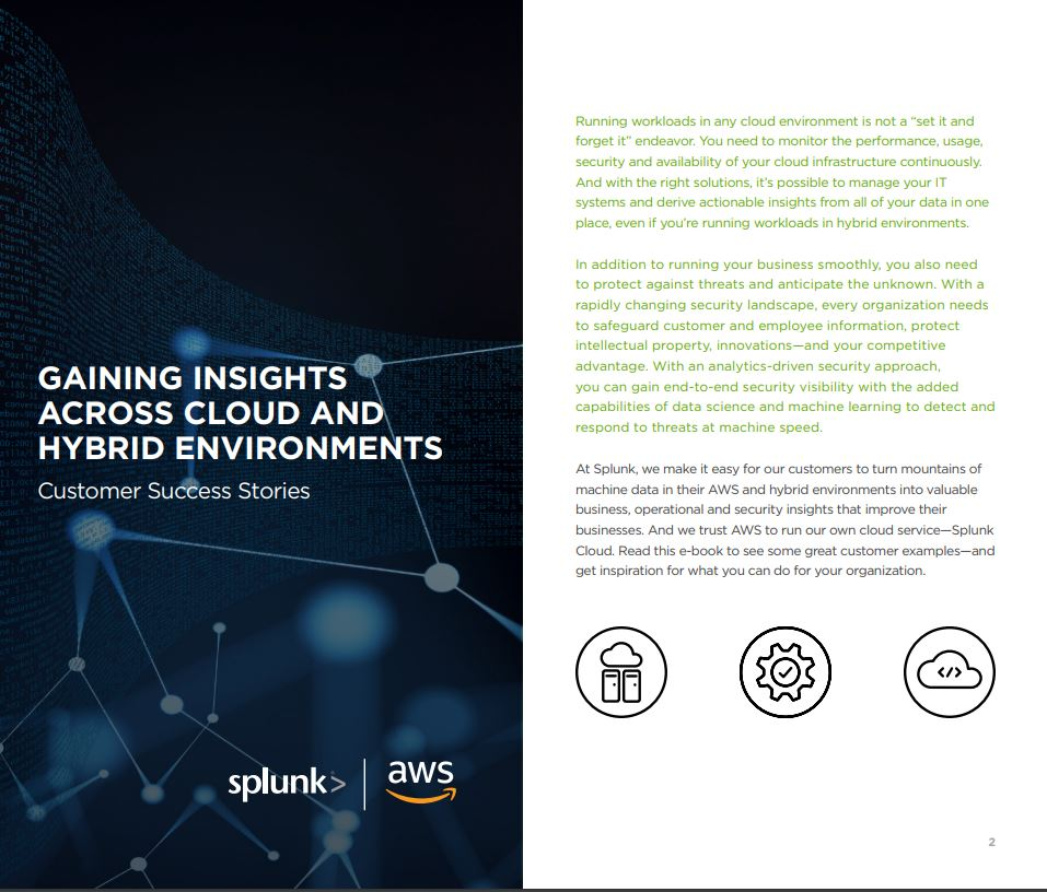 Gaining Insights Across Cloud & Hybrid Environments