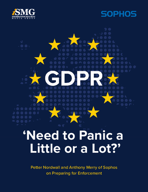 GDPR: 'Need to Panic a Little or a Lot?'