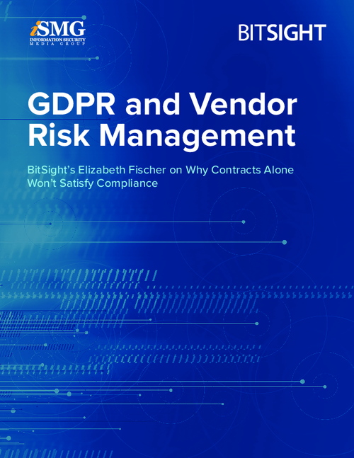GDPR and Vendor Risk Management