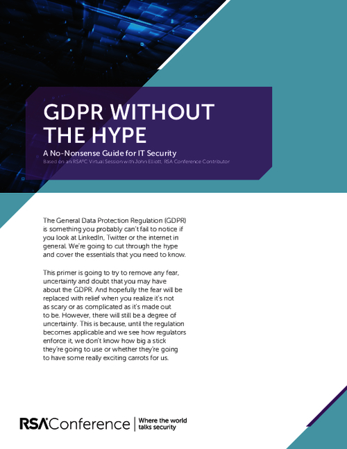 GDPR Without the Hype: A No-Nonsense Guide for IT Security