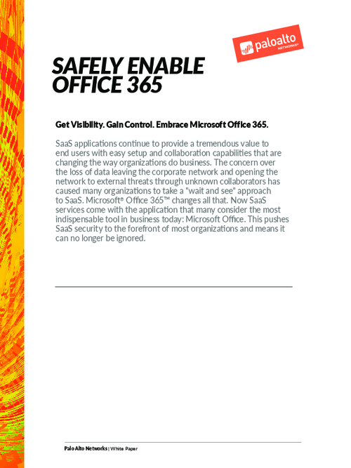 Get Visibility and Control by Embracing Microsoft Office 365