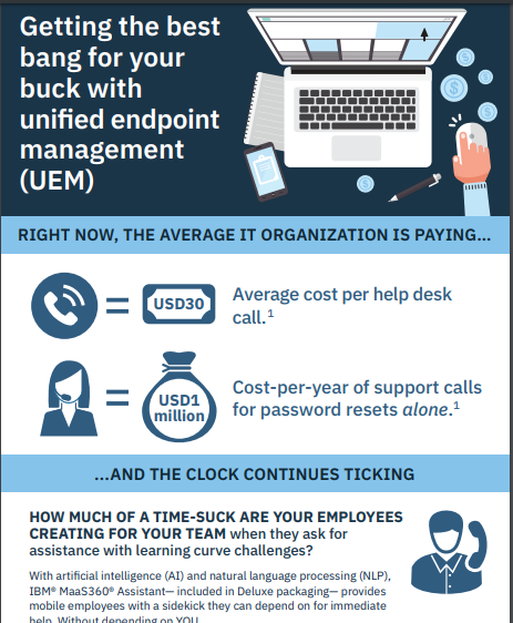 Getting the Best Bang for your Buck with Unified Endpoint Management (UEM)