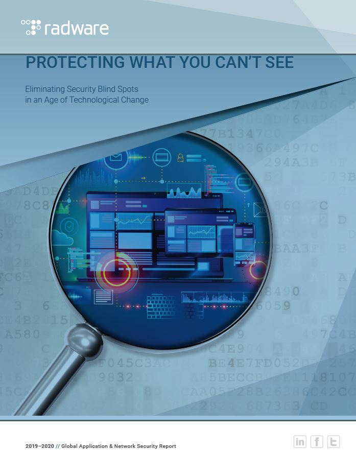 Global Application and Network Security Report: Protecting What You Can't See