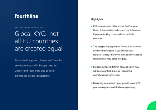 Glocal KYC: not all EU countries are created equal