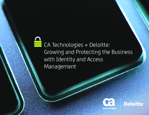 Growing and Protecting the Business with Identity and Access Management