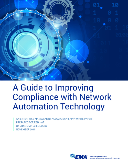 A Guide to Improving Compliance with Network Automation Technology