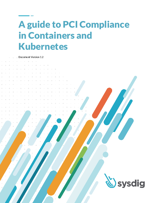 PCI Compliance for Containers and Kubernetes