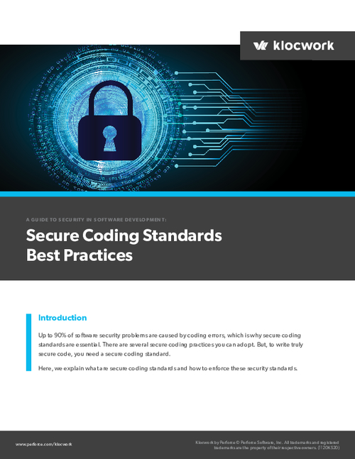 A Guide to Security in Software Development: Secure Coding Standards Best Practices