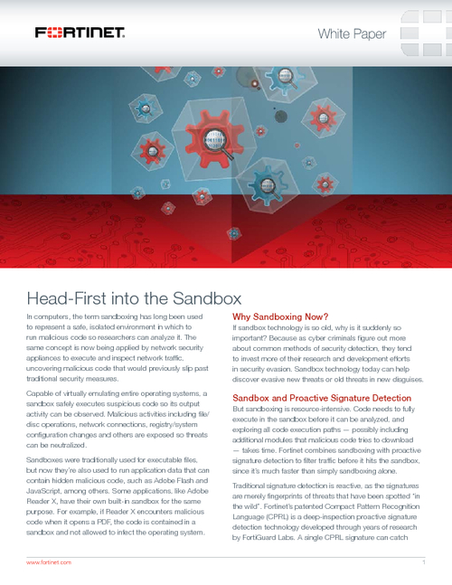 Head First Into Sandboxing Bankinfosecurity