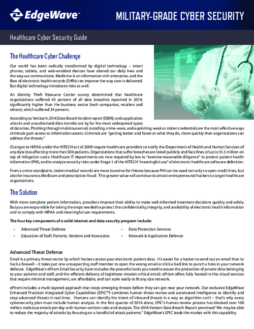 Healthcare Cyber Security Guide