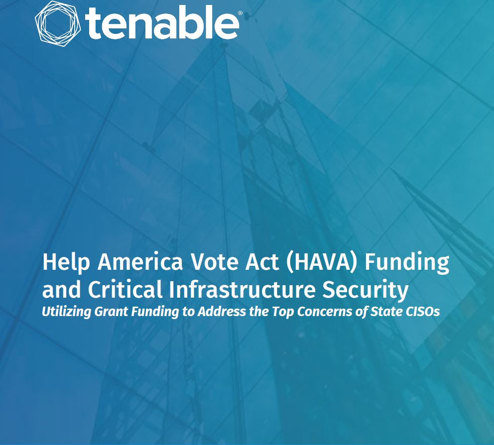Help America Vote Act (HAVA) Funding and Critical Infrastructure Security