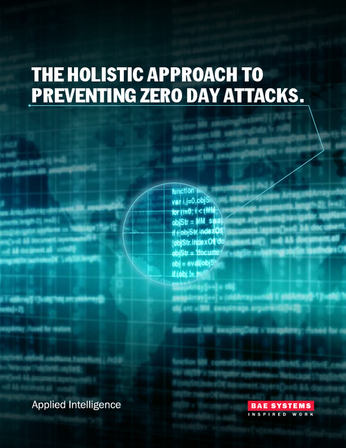 The Holistic Approach to Preventing Zero Day Attacks