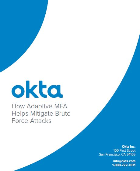 How Adaptive MFA Helps Mitigate Brute Force Attacks