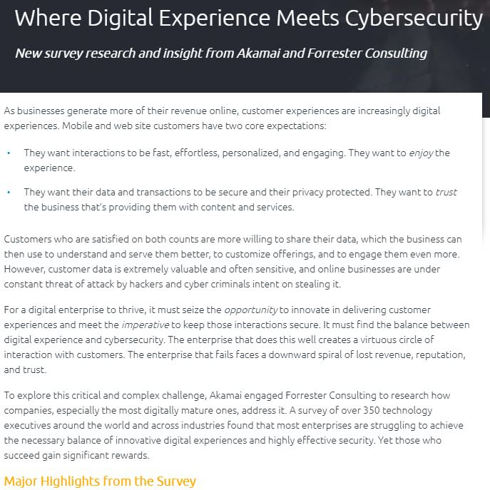 How Digital Experience Impacts Cybersecurity