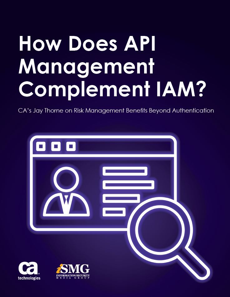 How does API Management Complement IAM?