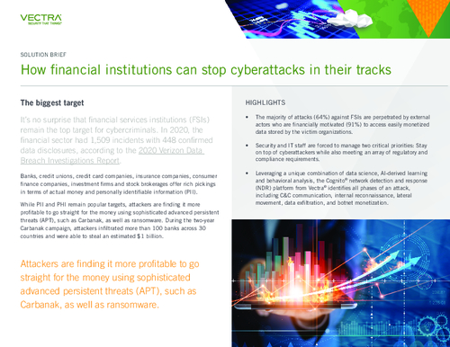How Financial Institutions Can Stop Cyberattacks in Their Tracks