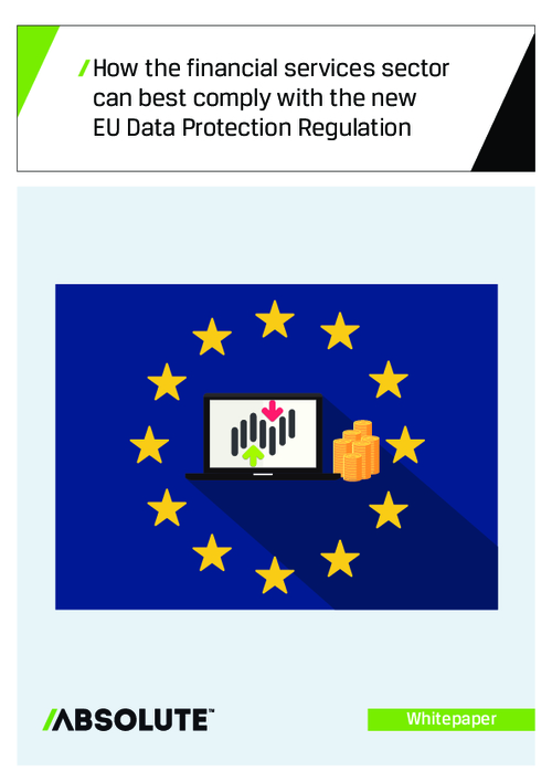 How The Financial Services Sector Can Best Comply With The New EU Data Protection Regulation