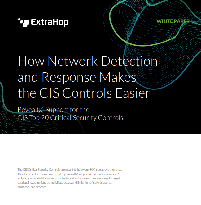 How Network Detection & Response Makes the CIS Controls Easier