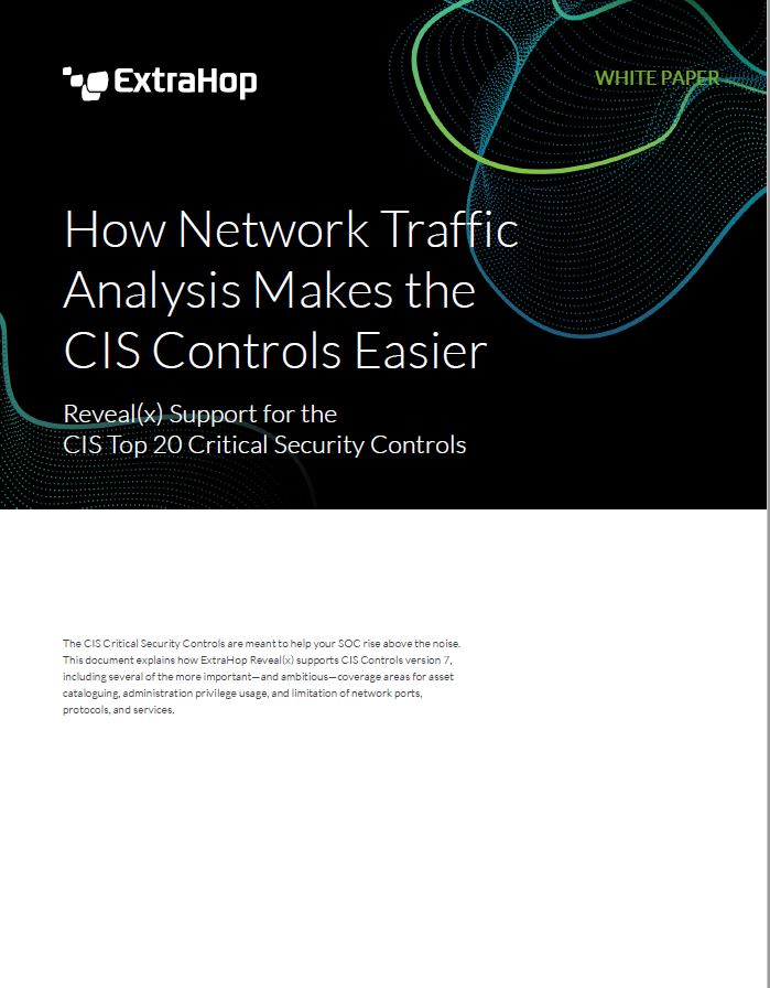 How Network Traffic Analysis Makes the CIS Controls Easier