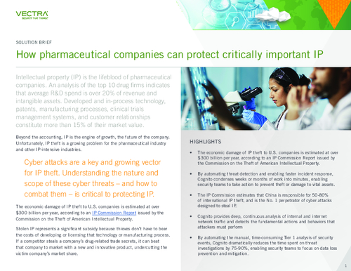 How Pharmaceutical Companies Can Protect Critically Important IP