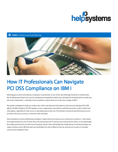 How IT Professionals Can Navigate PCI Compliance