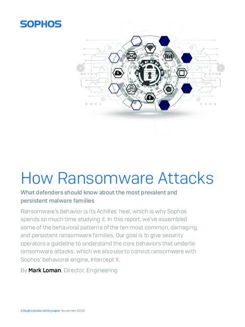 How Ransomware Attacks - What Defenders Should Know About the Most Prevalent and Persistent Malware Families