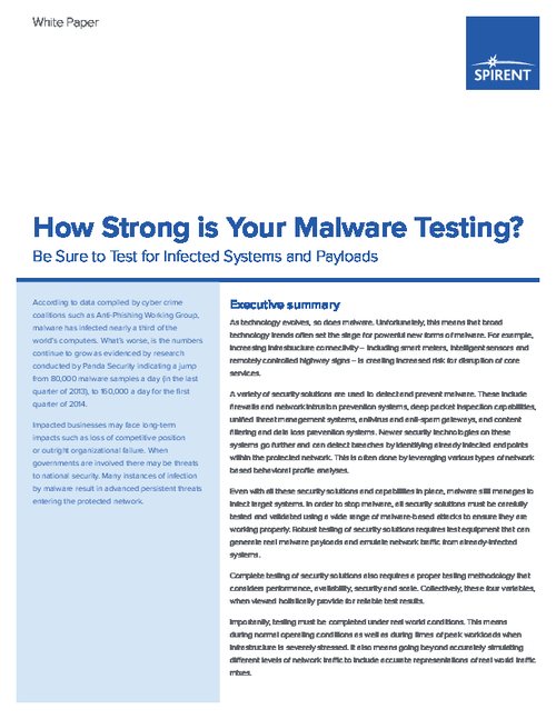 How Strong is Your Malware Testing?