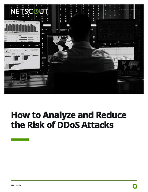 How to Analyze and Reduce the Risk of DDoS Attacks