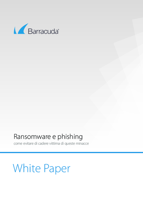 How to Avoid Falling Victim to Ransomware and Phishing (Italian Language)