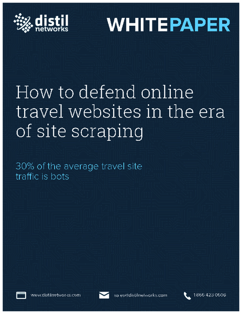 How to Defend Online Travel Websites in the Era of Site Scraping