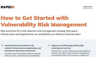 How to Get Started with Vulnerability Risk Management