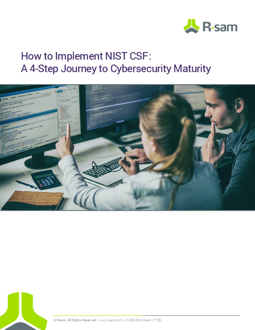 How to Implement NIST CSF: A 4-Step Journey to Cybersecurity Maturity