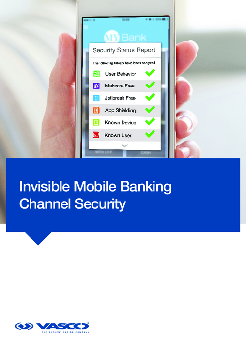 How to Make Security Invisible in Mobile Banking