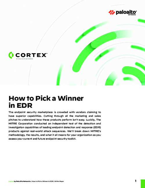 How to Pick a Winner in EDR