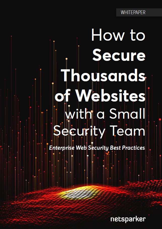 How to Secure Thousands of Websites with a Small Security Team