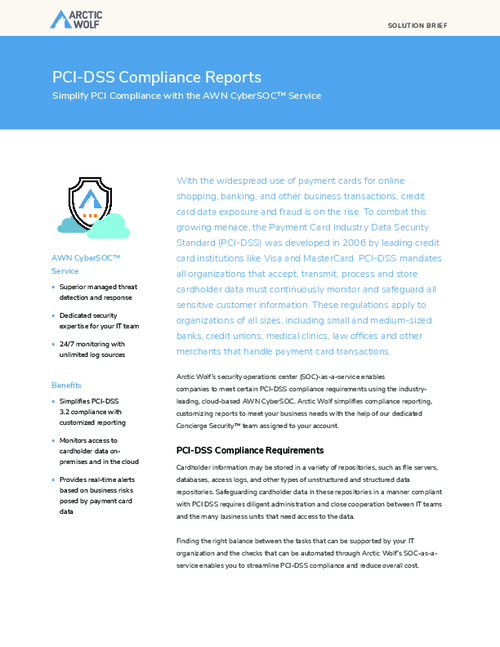 How to Simplify PCI-DSS Compliance Reports