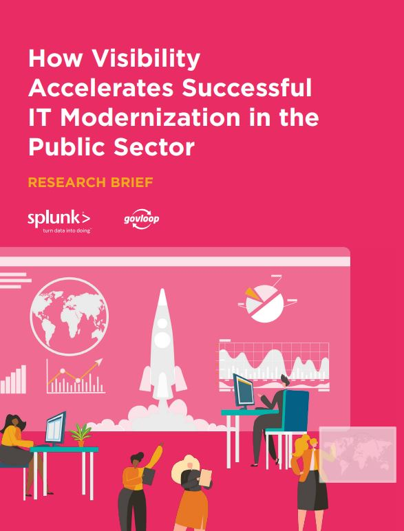 How Visibility Accelerates Successful IT Modernization in the Public Sector