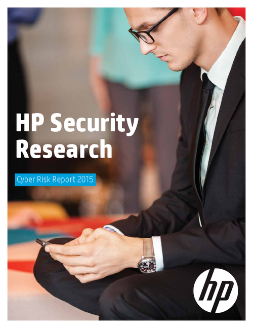 HP Security Research: Cyber Risk Report