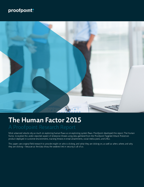 Insider Threat 2015: The Human Factor