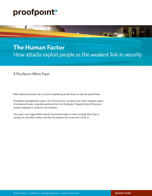 The Human Factor Report