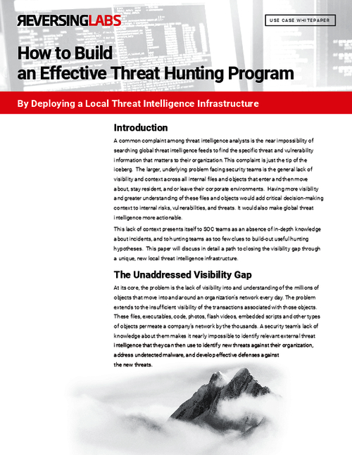 Hunting The Last Mile: How Local File Intelligence Changes the Threat Hunting Paradigm