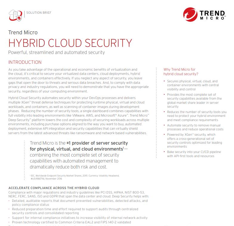 Hybrid Cloud Security: Powerful, Streamlined, & Automated Security