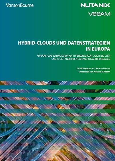 Hybrid Clouds and Data Strategies in Europe (German Language)