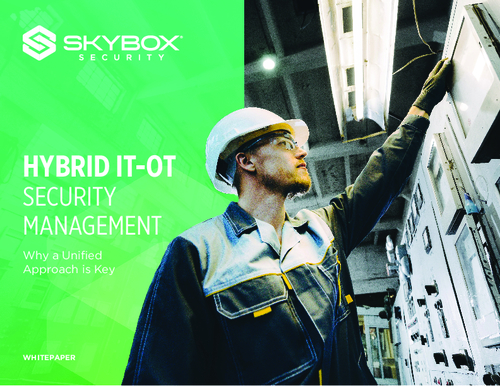 Hybrid IT-OT Security Management