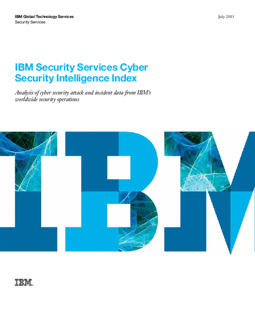 IBM Security Services Cyber Security Intelligence Index report