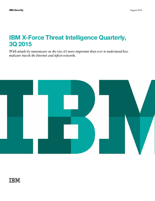 IBM X-Force Threat Intelligence Quarterly - 3Q 2015